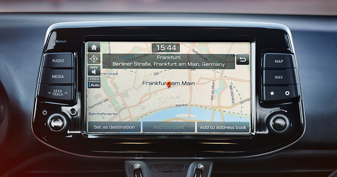 Hyundai i30 N - sistem navigacije