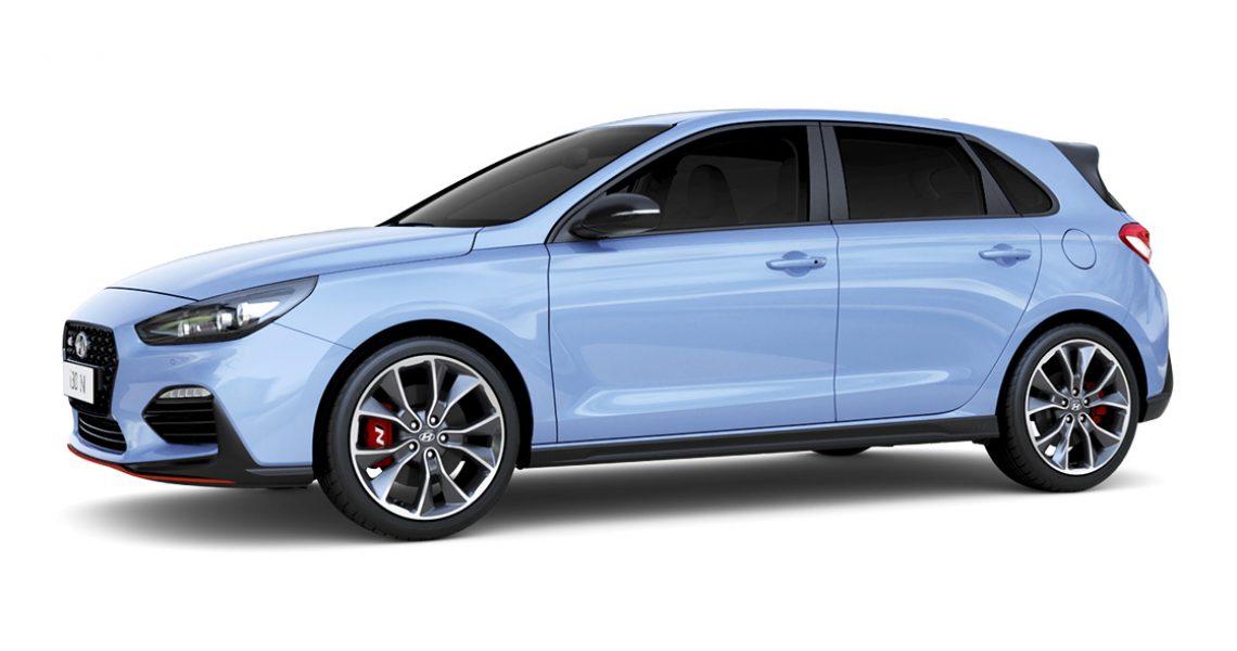 Hyundai i30 N - izgled bočne strane