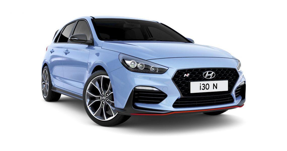 Hyundai i30 N - izgled prednje bočne strane