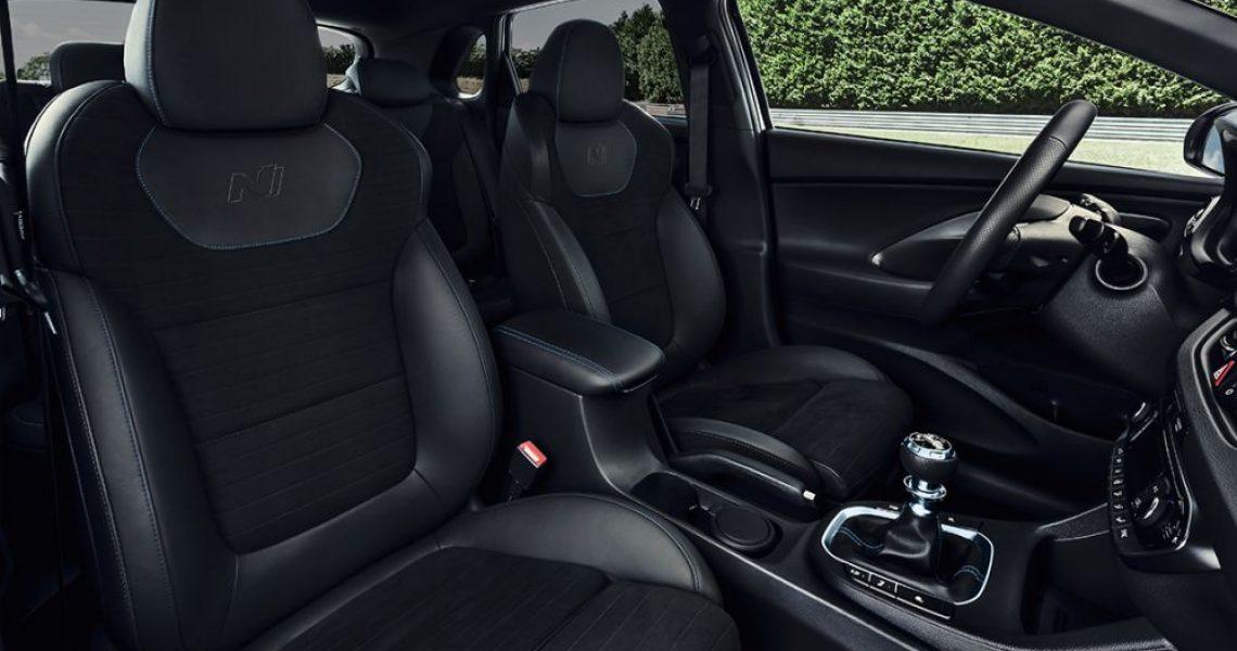 Hyundai i30 N - sportska sedišta 2