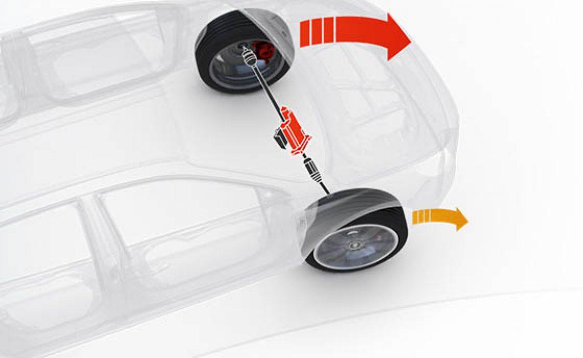 Hyundai i30 N - ilustracija osovine sa niskim težištem