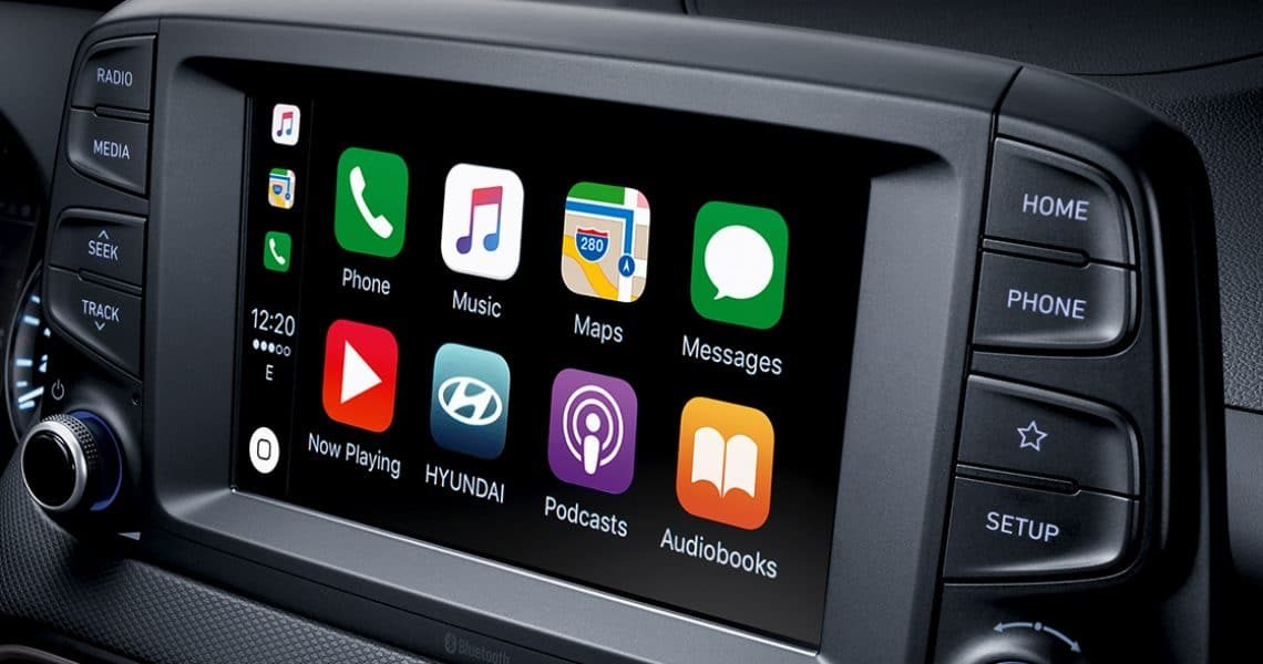 Multimedijalni displej za vozača Kone 2020