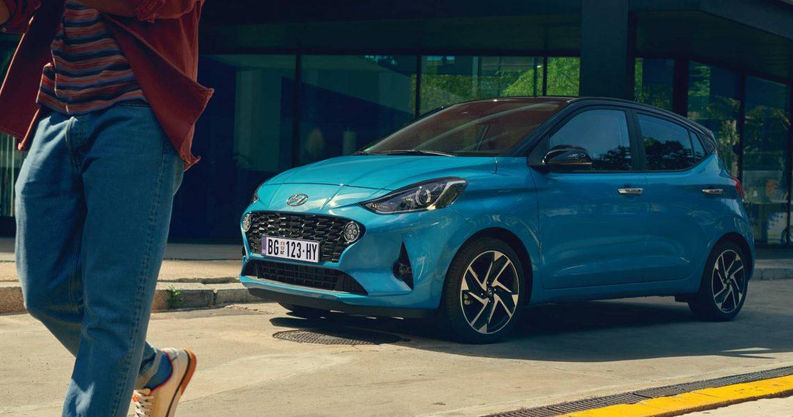 Sa krovom u boji, Hyundai i10 isporučuje se u 22 kolorne kombinacije