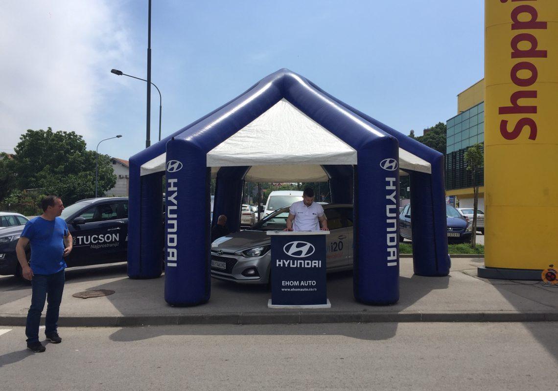Promocija Hyundai modela - SC Karaburma (štand)