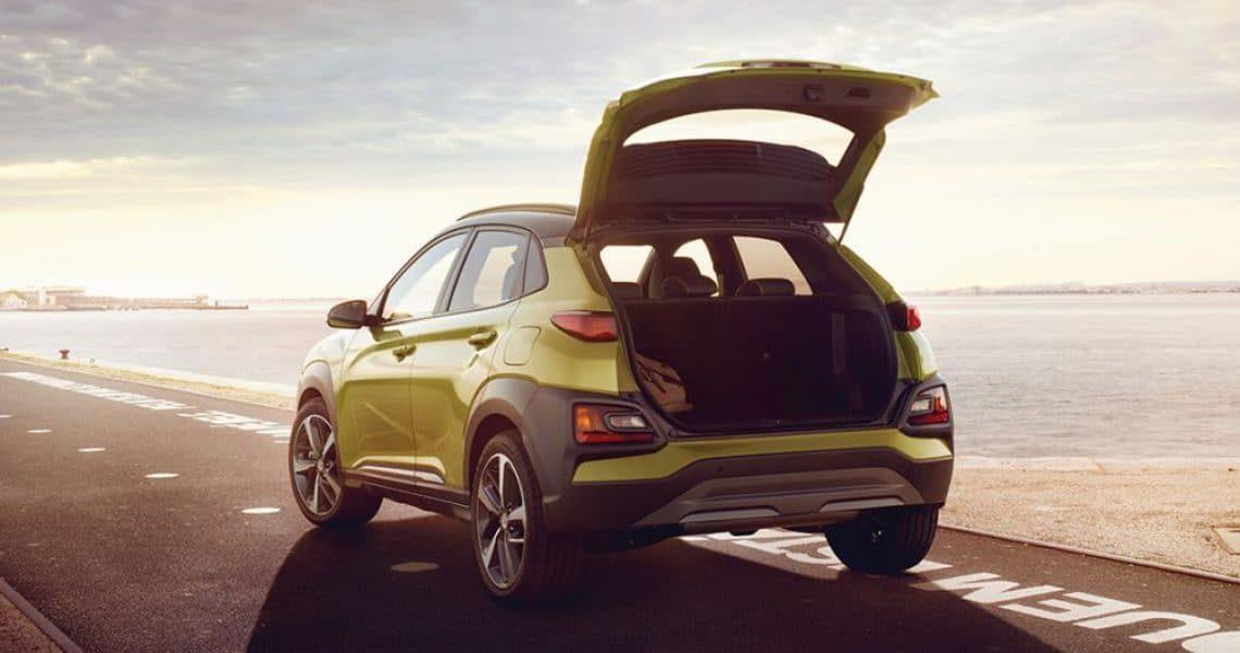 Hyundai Kona nova - zapremina prtljažnika