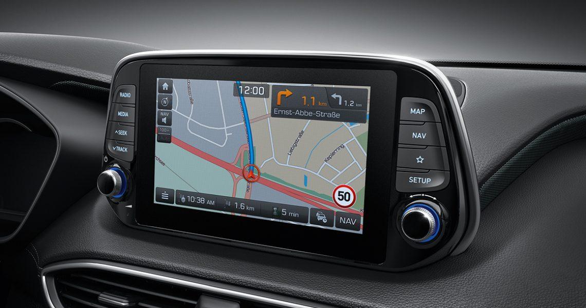 Hyundai Santa Fe - sistem navigacije