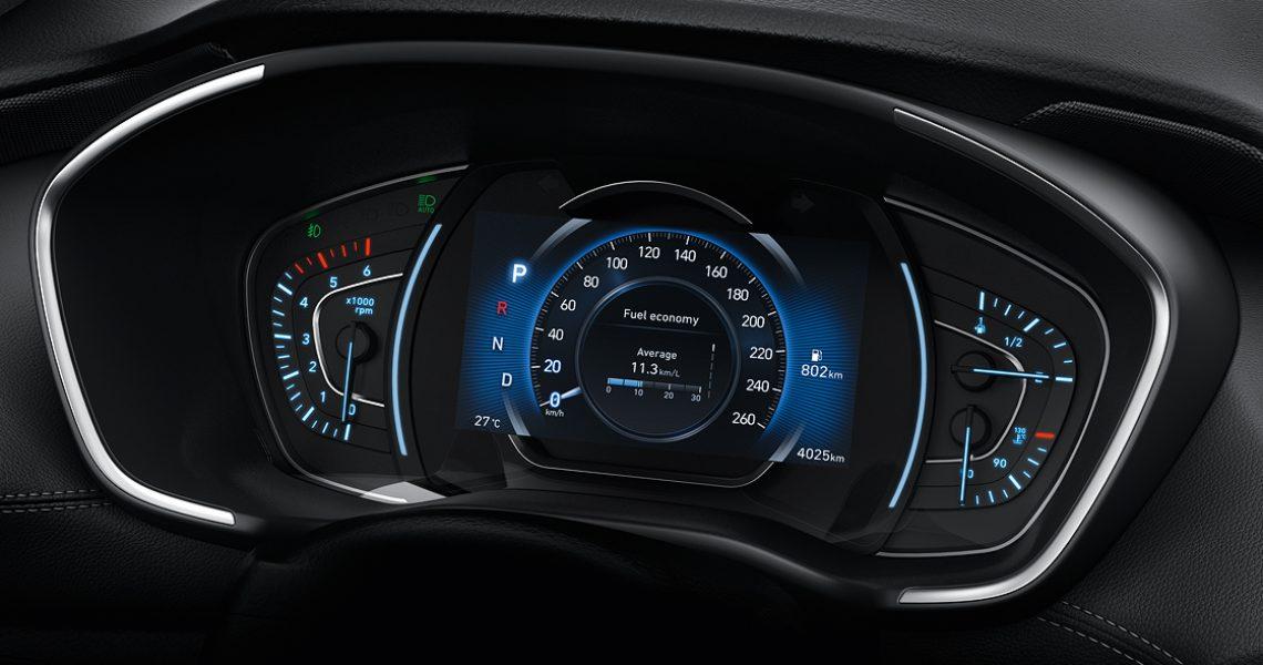 Hyundai Santa Fe - instrument tabla