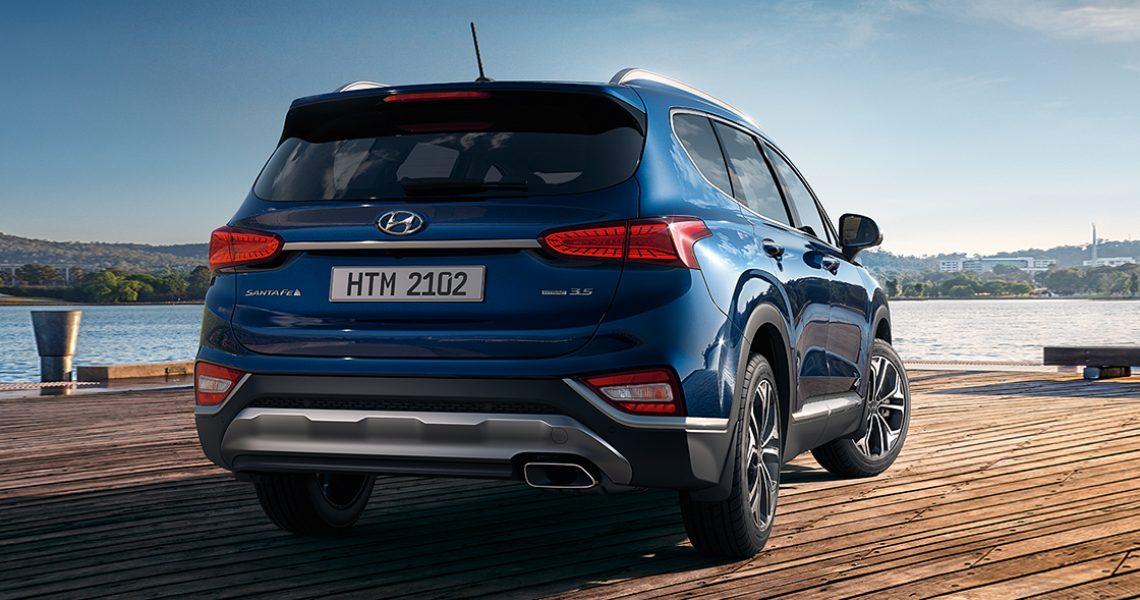 Hyundai Santa Fe - zadnji deo eksterijera