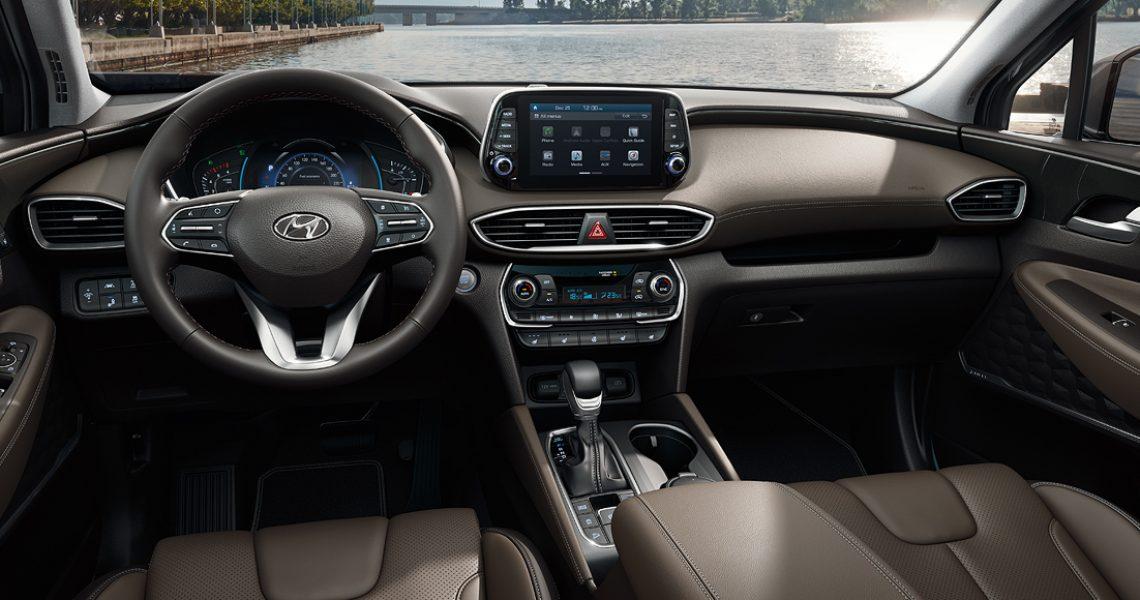Hyundai Santa Fe - dizajn enterijera