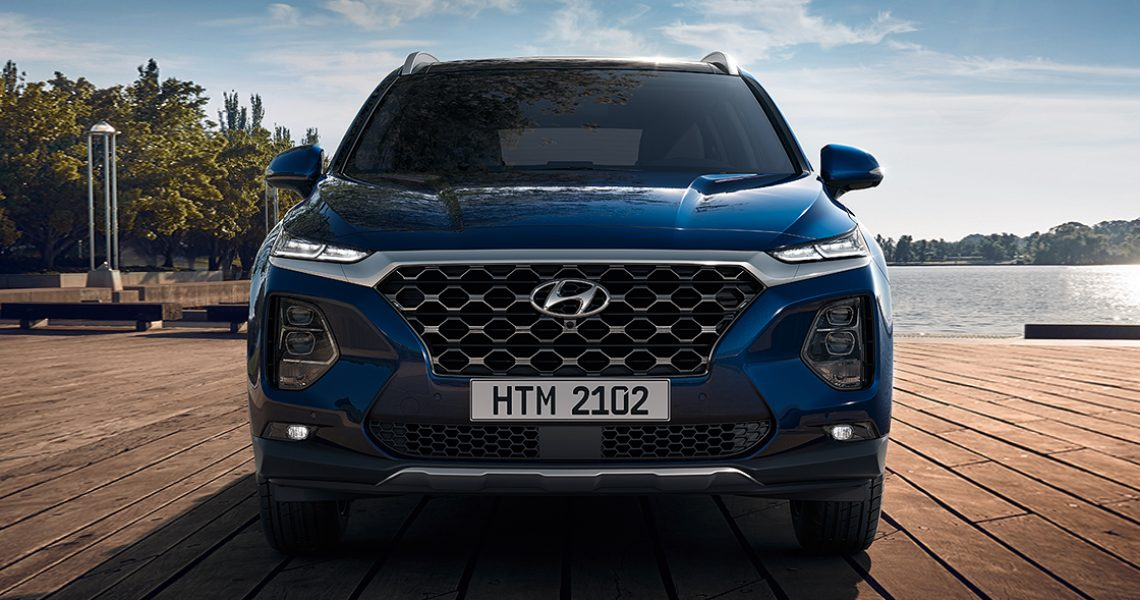Hyundai Santa Fe - izgled prednjeg dela eksterijera