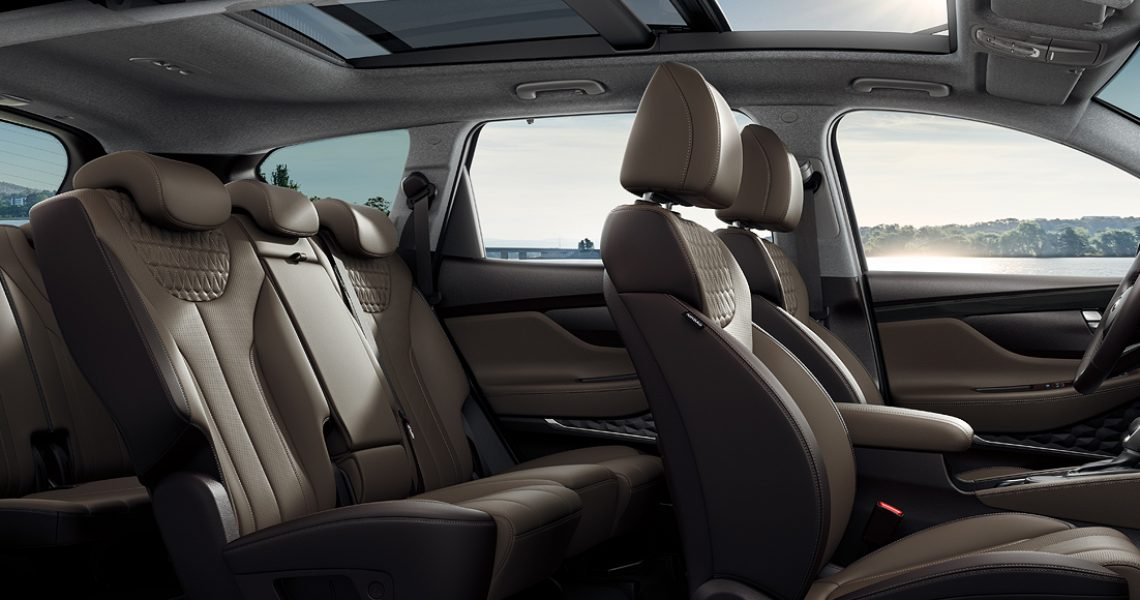 Hyundai Santa Fe - prostor u unutrašnjosti